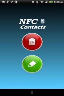 NFC Contacts- screenshot thumbnail