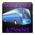 Transportation in Athens logo