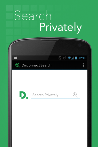 Disconnect Search - screenshot