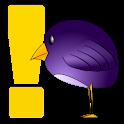Funny bird names logo