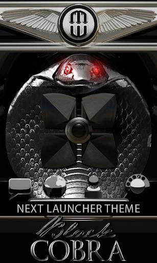 Next Launcher Theme Cobra