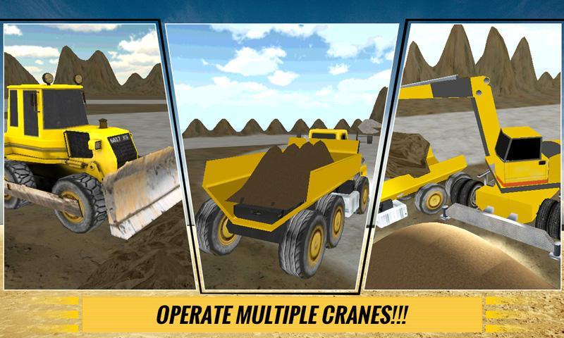 Sand-Excavator-Dump-Truck-Sim 16