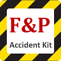 Car Accident tool kit by F & P logo