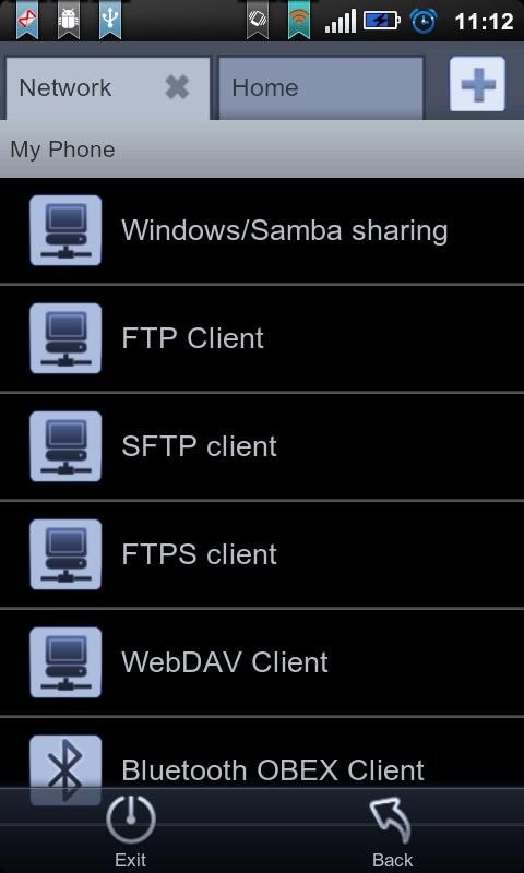 File Expert Black Theme Plugin - screenshot
