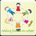 Find whatsApp Friends BBS icon