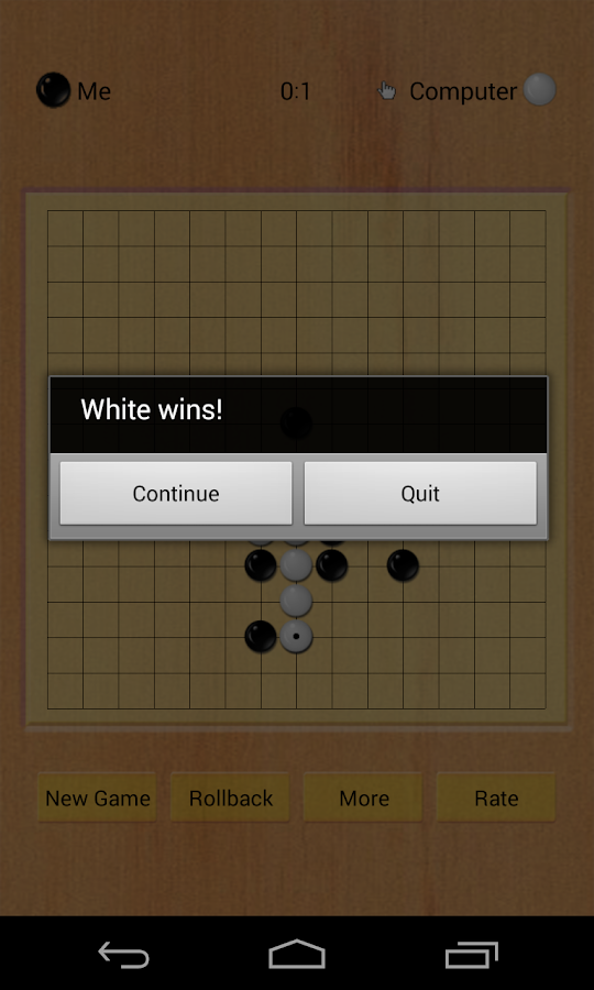Caro Puzzle - Five Chess Game- screenshot
