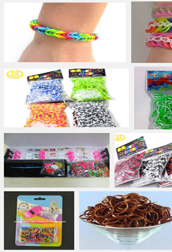 `Rainbow Loom Rubber Bands