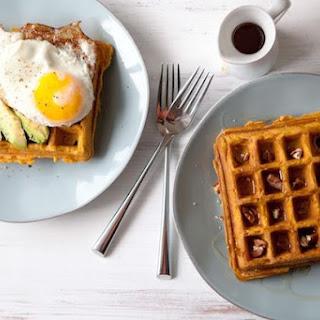 Sweet Potato Waffles, Sweet or Savory.