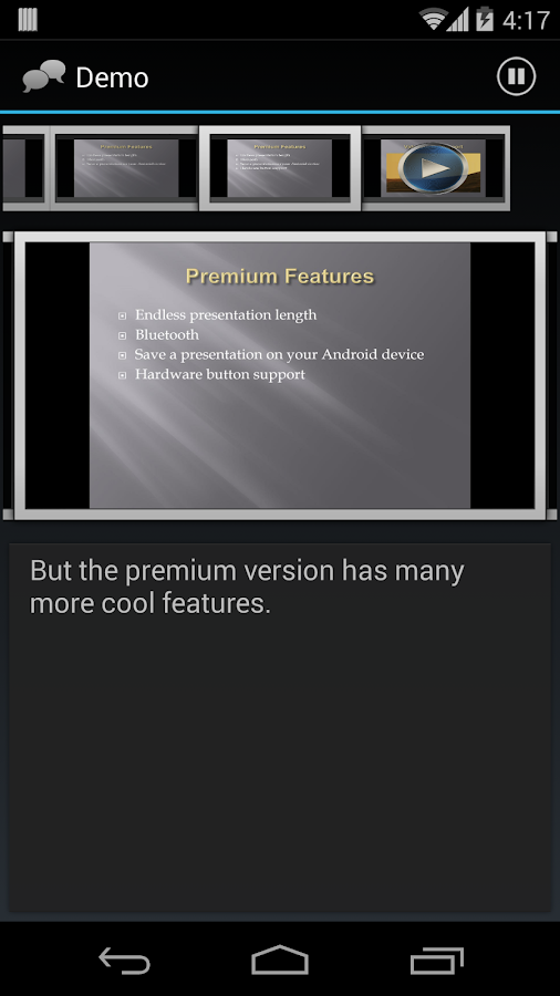 Remote Presenter Premium - screenshot
