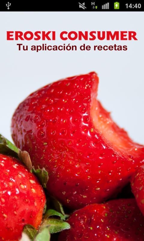 Recetas- screenshot