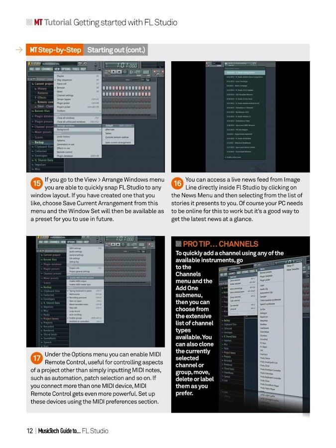 Music Tech Guide to FLStudio- screenshot