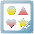 Shapes for kids and toddlers icon