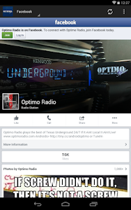 Optimo Radio screenshot 13