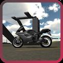 Skyscraper Climb Motorbike icon