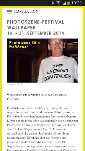 Photoszene Köln 2014
