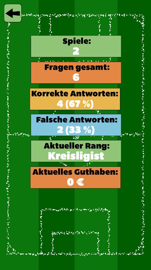 Fußball Quiz mit Freunden - screenshot