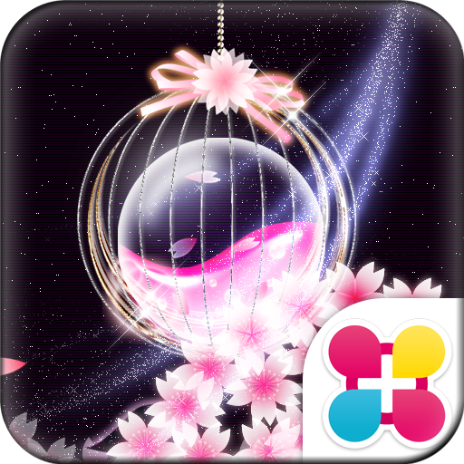 Flowers Wallpaper Crystal Ball Icon