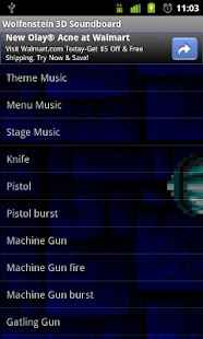 Wolfenstein 3D Soundboard - screenshot thumbnail