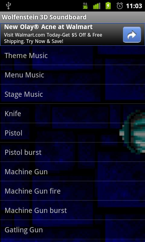 Wolfenstein 3D Soundboard - screenshot