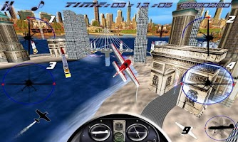 Screenshot of AirRace SkyBox Free