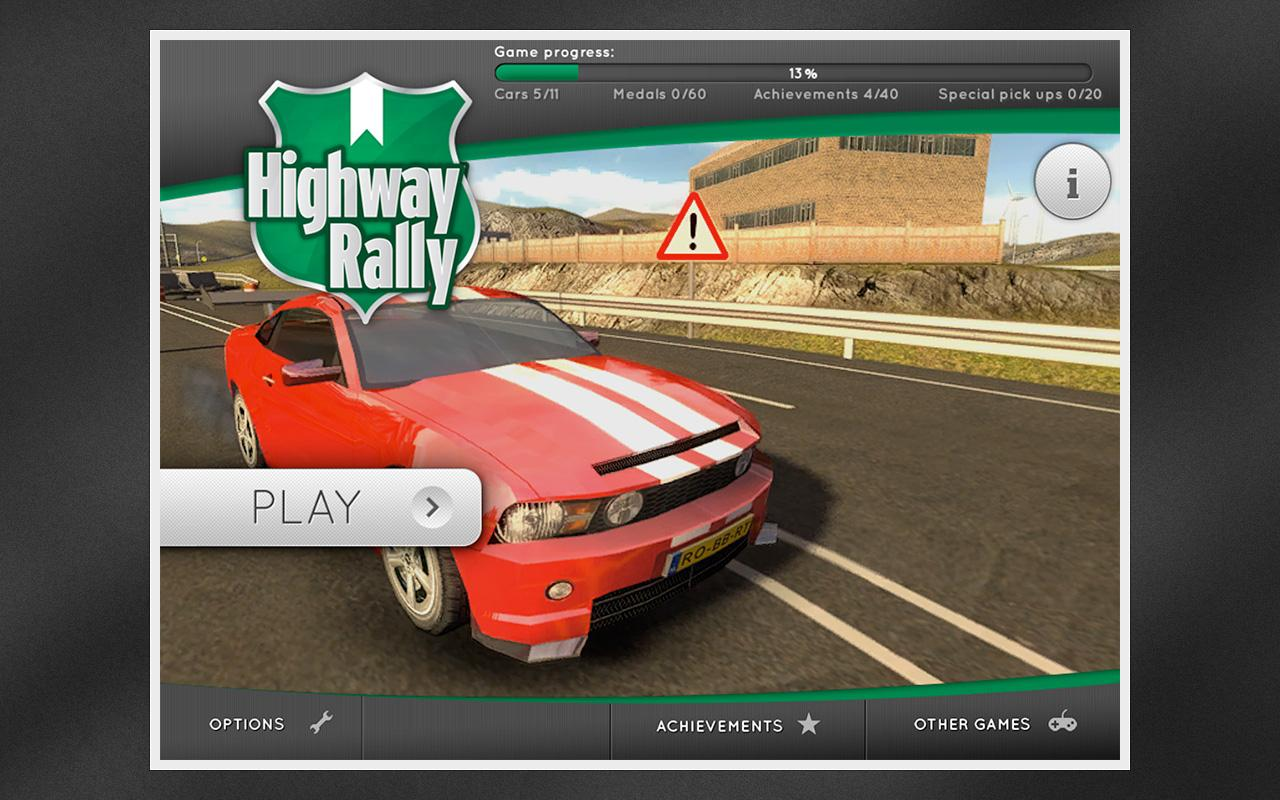 Highway Rally - screenshot