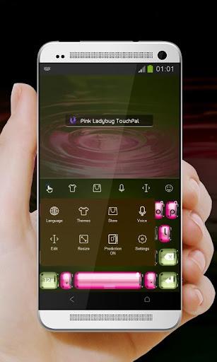 免費個人化App 粉紅色的瓢蟲 TouchPal 阿達玩APP