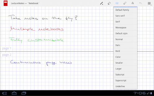 LectureNotes (Trial Version) - screenshot thumbnail