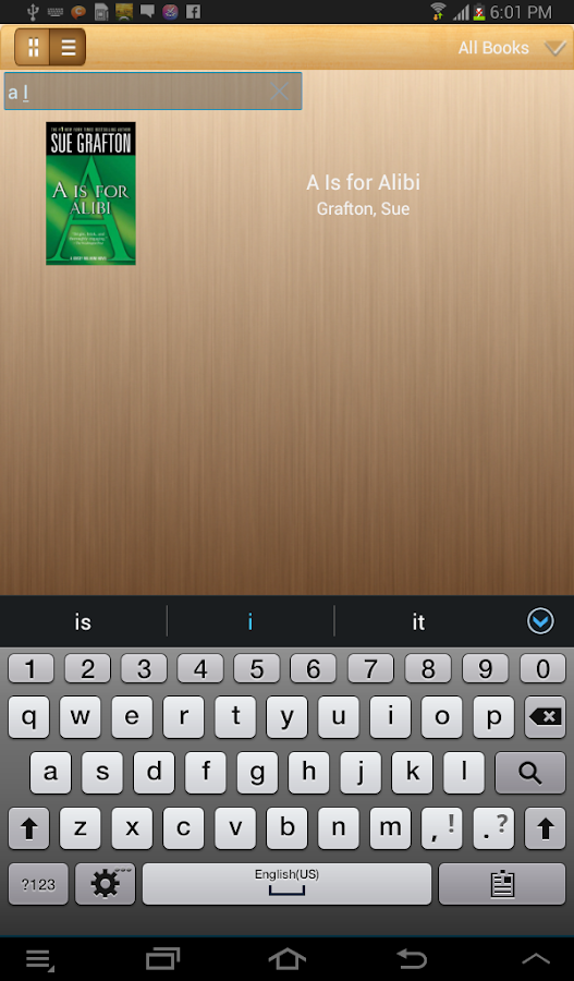 RSReader/EbookReader - screenshot
