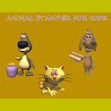 Animal Stamper For Kids logo