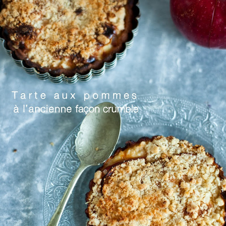 Apple Crumble Tartlets Recipe