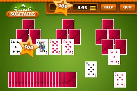 Tri Peaks Solitaire Free + - screenshot thumbnail