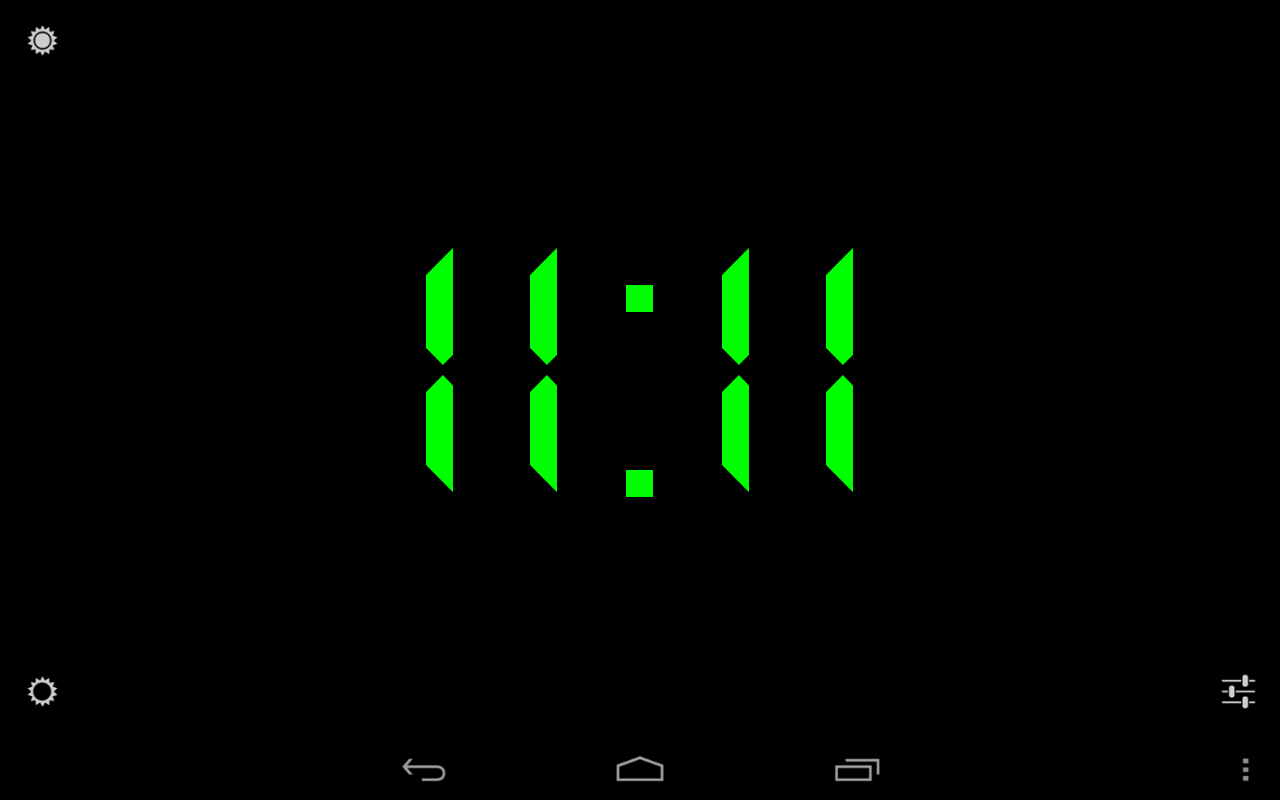 Colorful alarm (Alarm clock) - screenshot