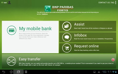 Easy banking - screenshot thumbnail
