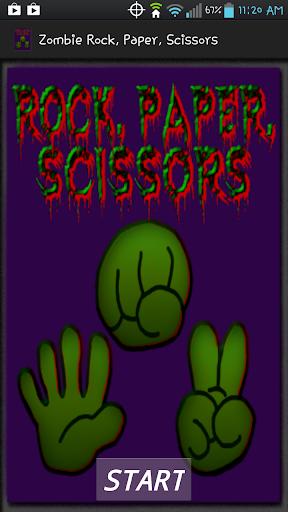 Zombie Rock Paper Scissors