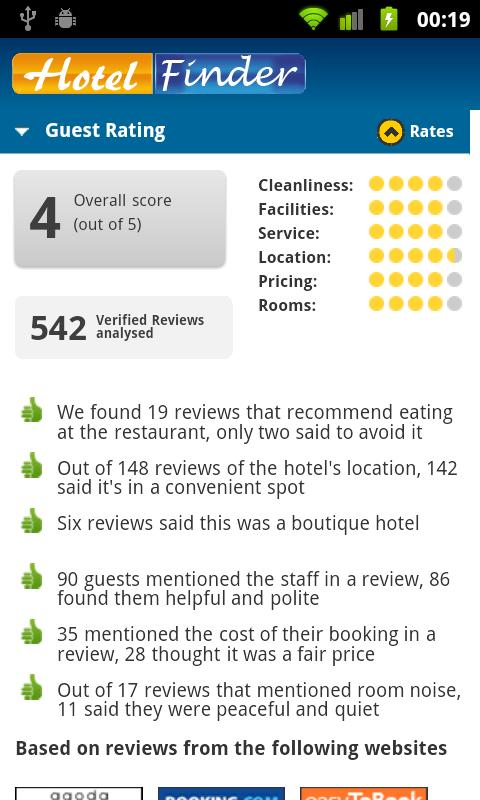 Hotel Finder - Book Hotels - screenshot