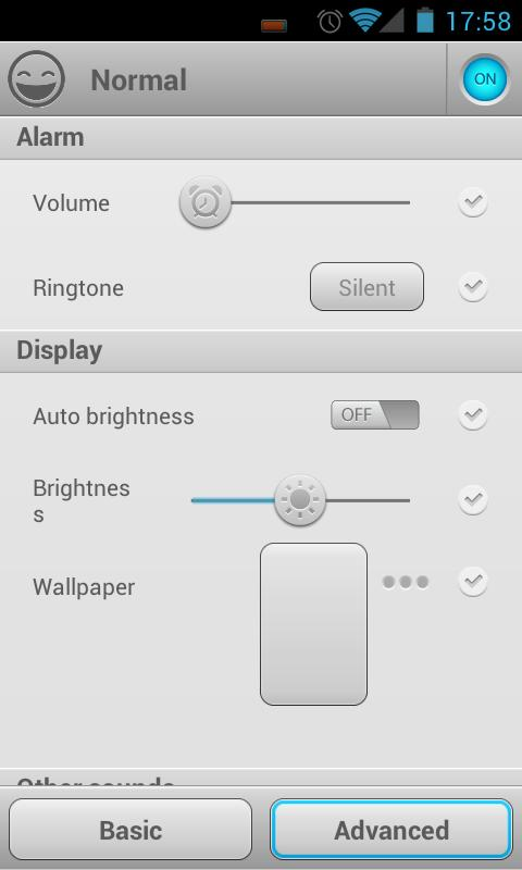 Smart Settings- screenshot