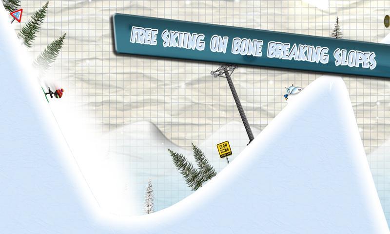 Stickman Ski Racer screenshot #2