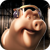 Funny Pig 3D Live Wallpaper