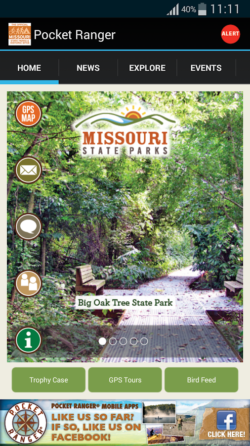 MO State Parks Guide- screenshot