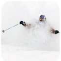 Skiing Powder icon
