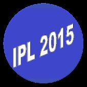 IPL 2015 Fixtures