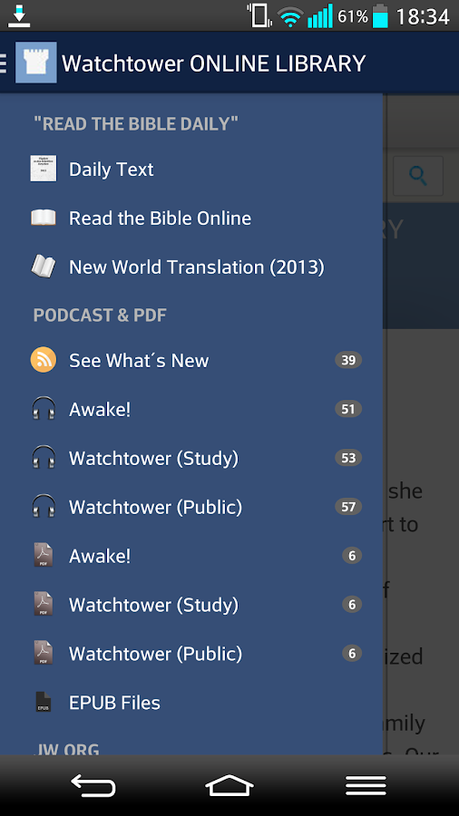 JW.org Podcast English AdFree - screenshot