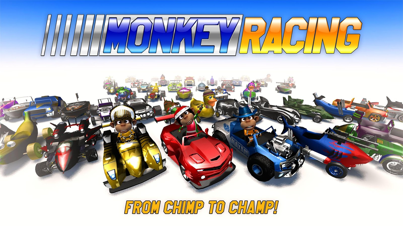 Monkey Racing- screenshot