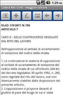 Codice dei Riti Civili- screenshot thumbnail