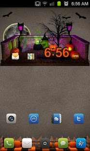 Halloween Clock - screenshot thumbnail