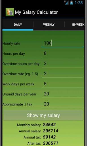 My Salary Calc