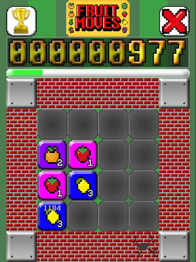 解謎必備APP下載 Fruit Moves Free - Puzzle Game 好玩app不花錢 綠色工廠好玩App