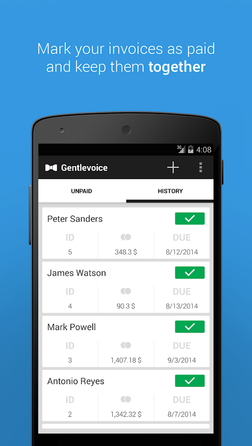 Gentlevoice - Invoice App - Android Apps on Google Play
