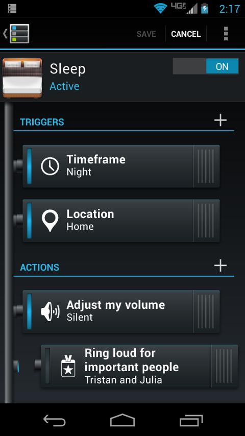 SMARTACTIONS™- screenshot