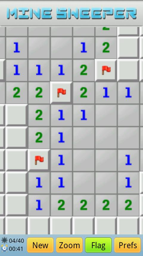 Super MineSweeper- screenshot